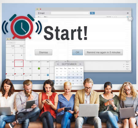 activation: Start Beginning Forward Startup Launch First Activation Concept