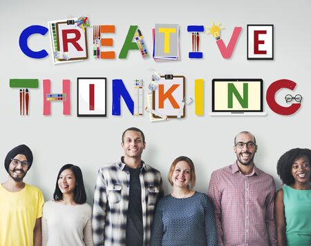 creativity: Creative Thinking Ideas Innovation Creativity Concept