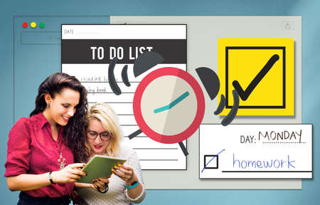 to do list: To Do List Time Management Concept