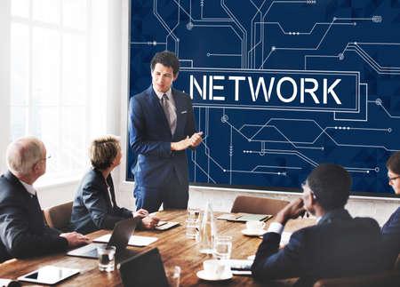 diversity domain: Network Social System Computer Connection Web Concept