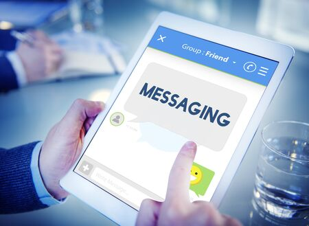 mingle: Messaging Chat Communication Connection Online Concept