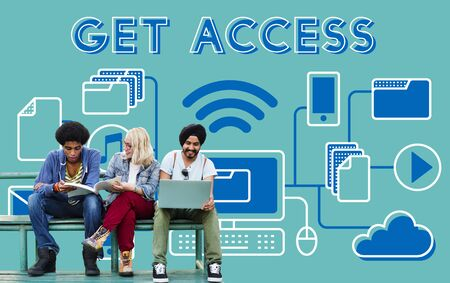 possible: Access Accessible Availability Free Open Possible Concept Stock Photo