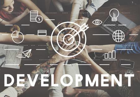 bulls eye: Bulls Eye Goal Mission Icon Development Concept