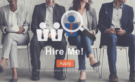 Hire Me Job Application Employment Concept