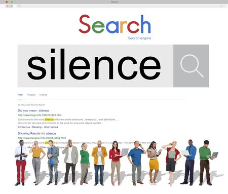 quietness: Silence Peaceful Tranquil Quietness Still Silent Concept Stock Photo