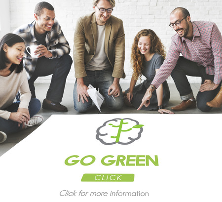 think green: Go Green Refresh Think Green Concept
