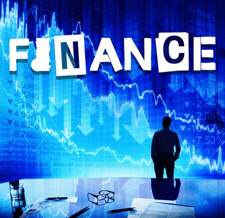 stockmarket chart: Finance Financial Budget Accounting Money Concept