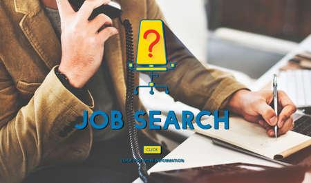 career plan: Job Search Career Plan Occupation Concept