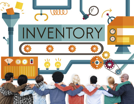 huddle: Inventory Stock Manufacturing Assets Goods Concept