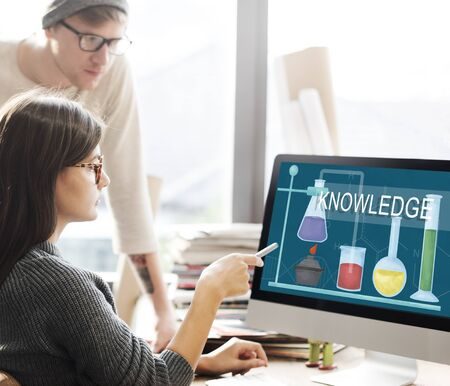 lab tech: Science Research Project Knowledge Innovate Experience Intelligence