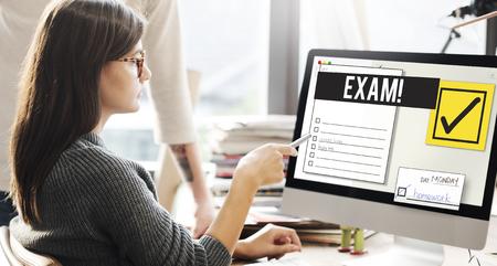 To Do List Organise Checklist Word Concept Stockfoto