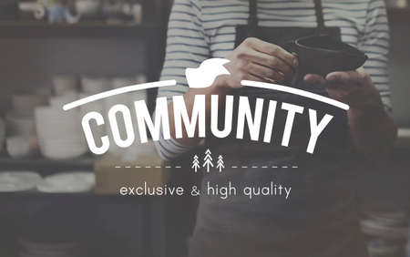 curator: Community Connection Network Togetherness Concept
