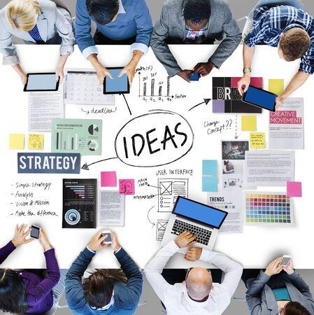 아이디어 개념 미션 제안 전략 비전 개념