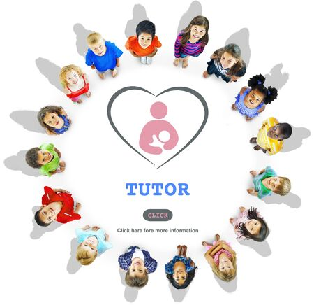 tutor: Concepto de Inteligencia Tutor�a Educaci�n de entrenamiento para tutores Foto de archivo