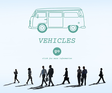 Vehicles Traveling Adventure Journey Destination Van Concept