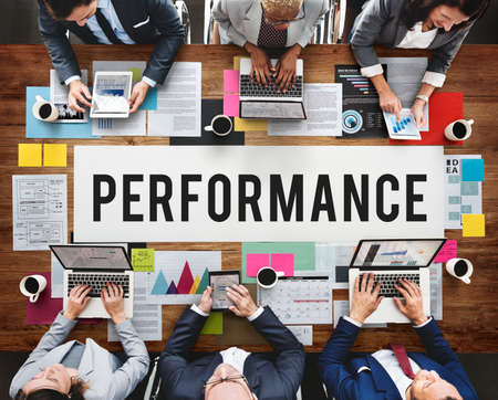 fulfilment: Performance Efficiency Implementation Inspiration Concept Stock Photo