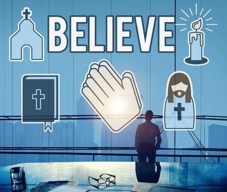 believe: Cree la fe de la individualidad Concepto Espiritualidad modo de pensar