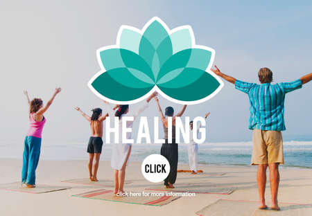 recuperate: Healing Therapy Wellbeing Wellness Concept