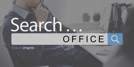 Online search for office concept
