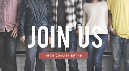 recruit: Join Us Membership Recruit Register Concept