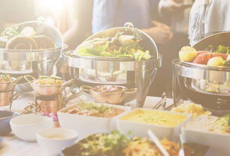 variation: Buffet Brunch Food Eating Festive Cafe Dining Concept