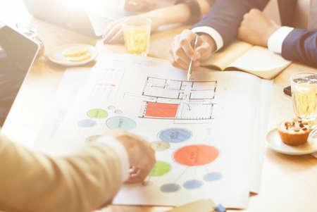 analysing: Team Meeting Brainstorming Planning Analysing Concept