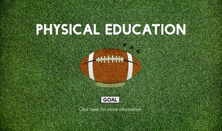 educacion fisica: El mariscal de Educación Física Rugby Sport Concept