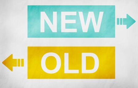 comparison: New Old Opposite Versus Contradicting Comparison Concept