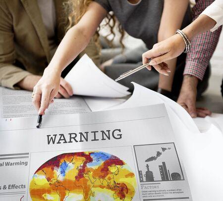 dangerous ideas: Warning Alert Beware Hazard Risk Sign Caution Concept Stock Photo