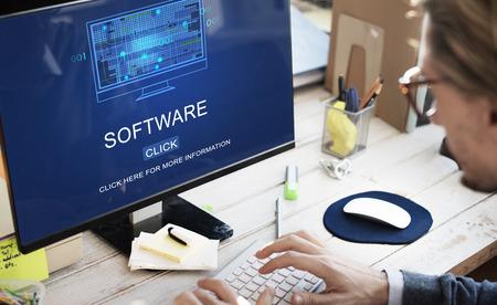 programs: Software Data Digital Programs System Technology Concept