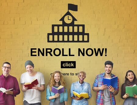 study group: Education Learning School Knowledge Elementary Highschool Concept Stock Photo