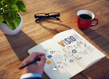 aspiration: Vision Aspiration Motivation Inspiration Concept Stock Photo