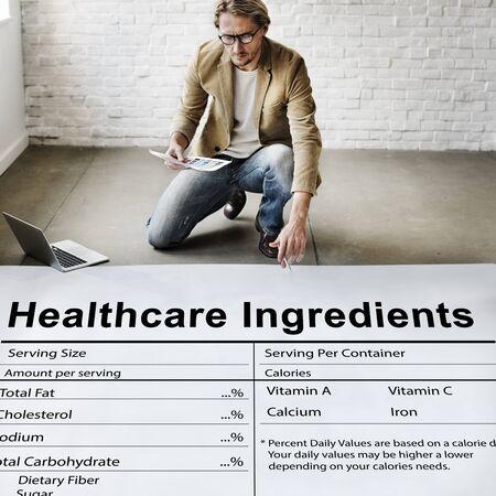 nutrientes: Suplemento de Nutrici�n Bienestar Salud Concepto Nutrientes Foto de archivo