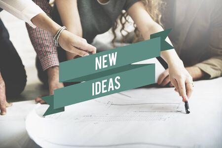 new ideas: New Ideas Start up Innovation Creative Concept Stock Photo