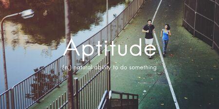 aptitude: Aptitude Natural Human Ability Graphic Concept