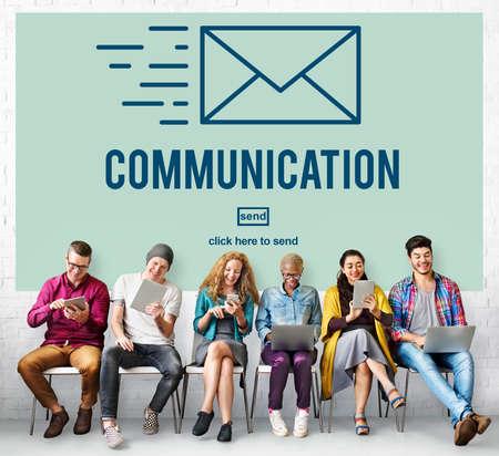 correspondence: Comunicaci�n Conexi�n Correspondencia Concepto de correo electr�nico