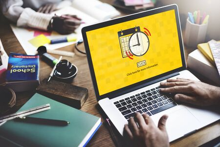 business work: Calendar Reminder Priority Note Date Concept
