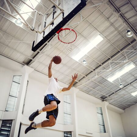 bounce: Basketball Bounce Competition Exercise Player Concept