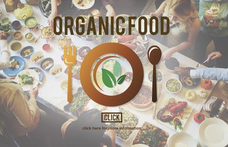 mediterranean food: Organic Food Nutrition Healthy Diet Concept