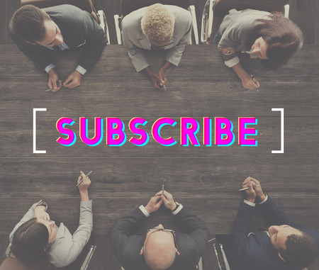 Subscribe Communication Marketing Membership Concept