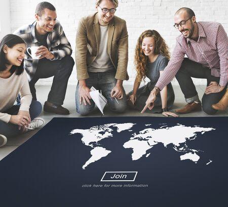 cartography: World Global Cartography Globalization Earth International Concept