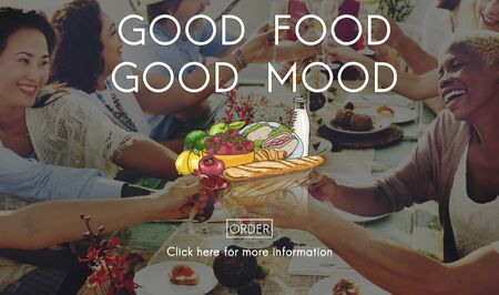 comida rica: Buen concepto de restauración del estado de ánimo de Alimentos vida saludable Nutrición
