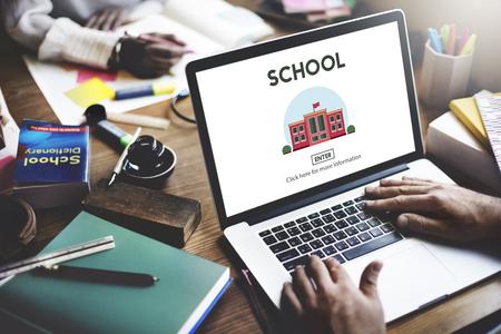 School Academy Education Graphics Concept
