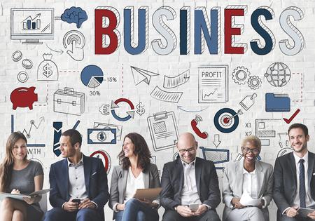 Organisation de développement des entreprises Stratégie Concept Banque d'images