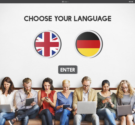 factions: Language Dictionary English German Concept
