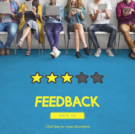 comment: Customre Feedback Comment Vote Review Results Concept