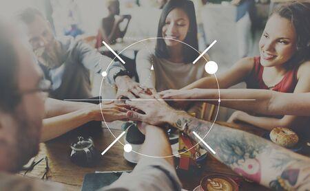 determine: Focus Clearity Definition Determine Inspiration Concept
