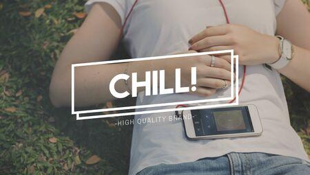 recess: Chill Break Recess Rest Relaxation Cessation Concept Stock Photo