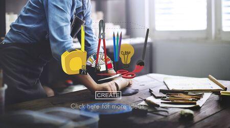 Craft Creation Ideas Design Art Concept
