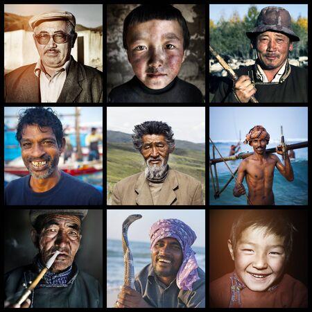 niños de diferentes razas: De descendencia mixta Descendencia Descenso